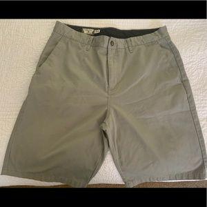 Men's Volcom shorts, size 34